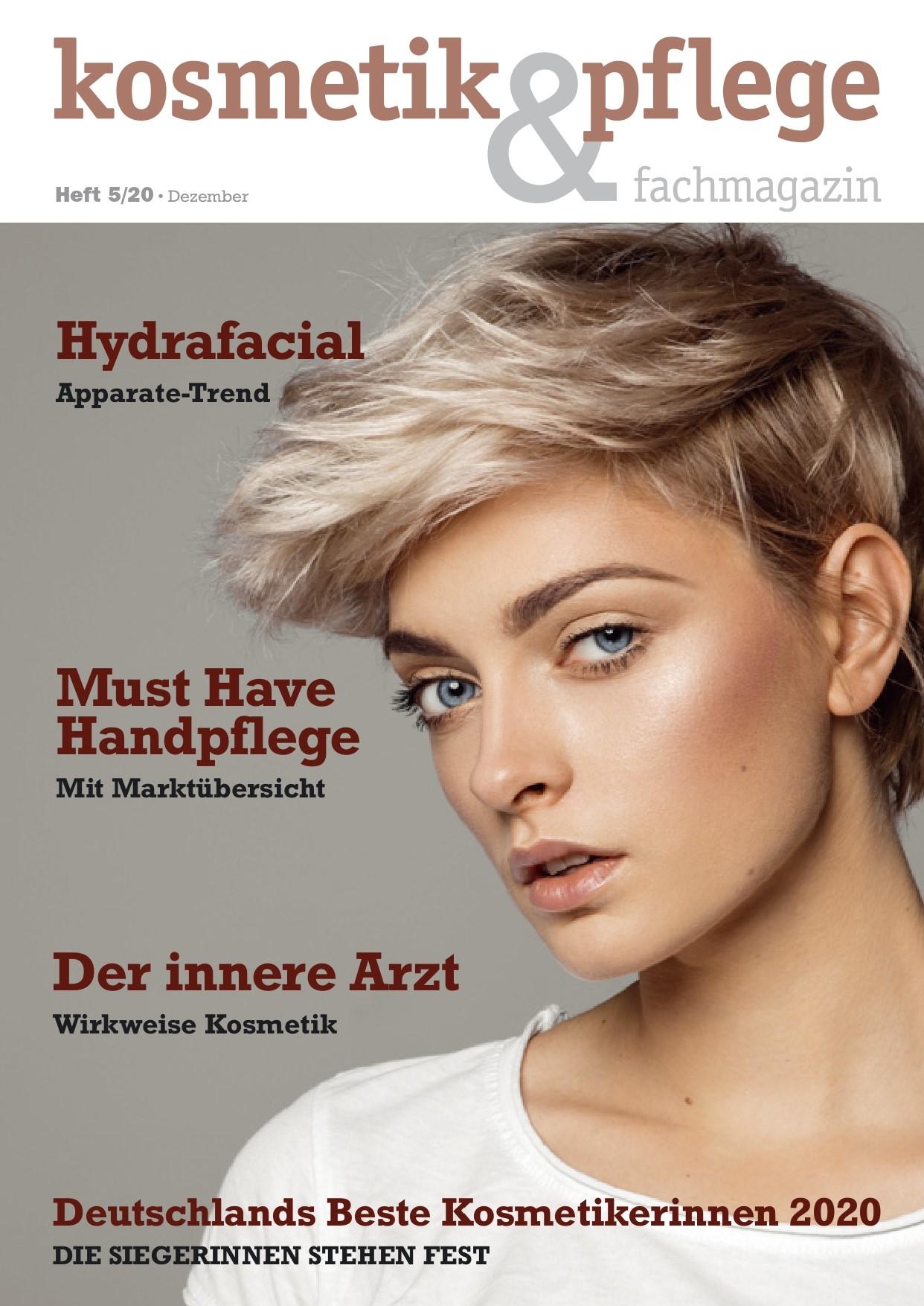 """Featured image for """"kosmetik & pflege fachmagazin, Ausgabe 5/20, """"Gründung des Bundesberufsverbands"""" Dezember"""""""